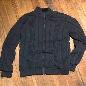 Weatherproof Zip Sweater